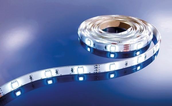Flexibler LED Stripe IP 33, 12V, 3 m Rolle, weiß