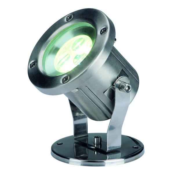 NAUTILUS LED 304B, Edelstahl gebürstet, 3x1W weiss, IP55
