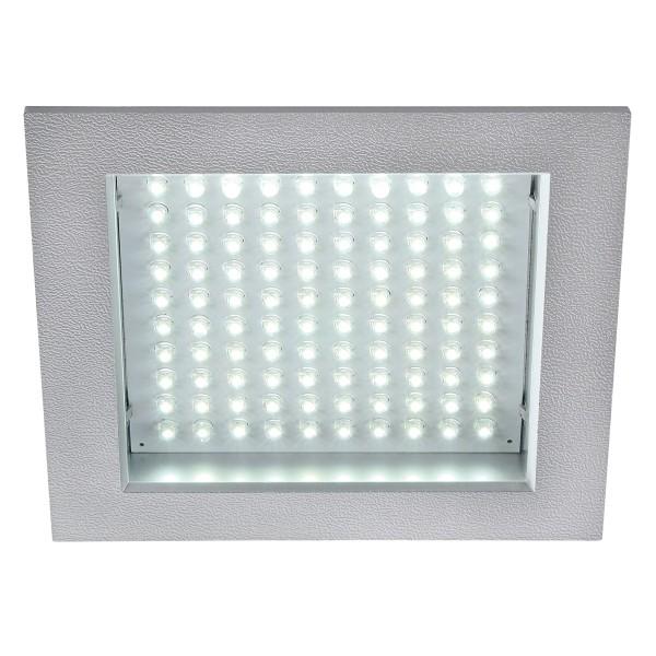 LED PANEL 100, Einbauleuchte, LED, 6500K, eckig, silbergrau, max. 8,5W