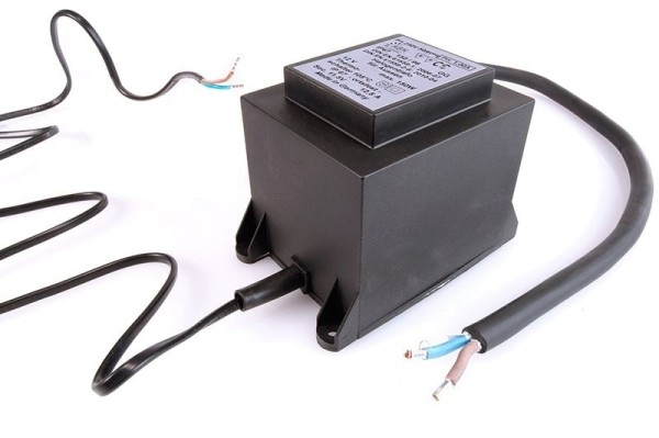 Netzgerät, ABN Transformator 12VAC, 300W, IP 67, Kunststoff, Schwarz, 300W, 11V, 130x93mm