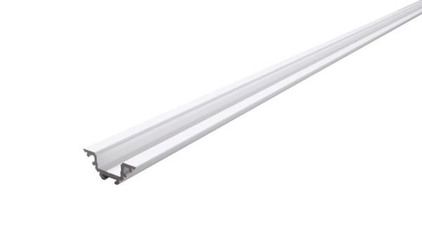 Reprofil Profil, Eck-Profil AV-04-12, Aluminium, Weiß-matt, 2000mm