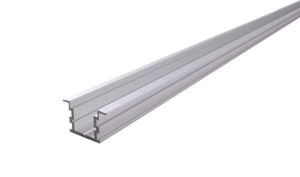 Reprofil Profil, IP-Profil, T-hoch ET-05-15, Aluminium, Silber-matt eloxiert, 2000mm