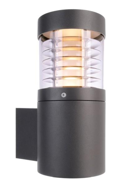Deko-Light Wandaufbauleuchte, Ortis, Aluminium Druckguss, dunkelgrau, Warmweiß, 360°, 15W, 230V
