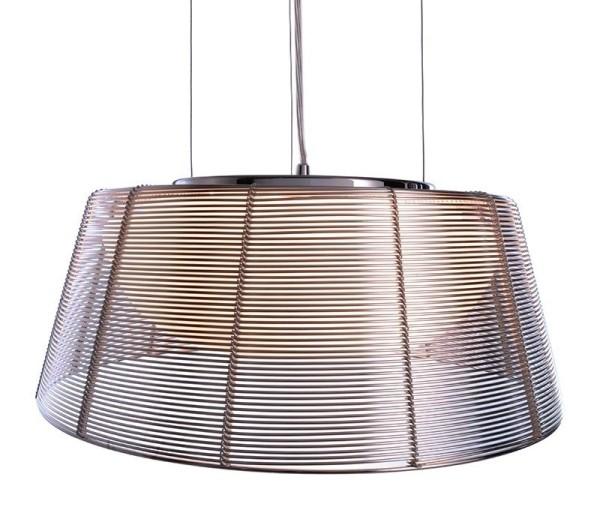 Deko-Light Pendelleuchte, Filo Sat, Metall, silberfarben, 60W, 230V