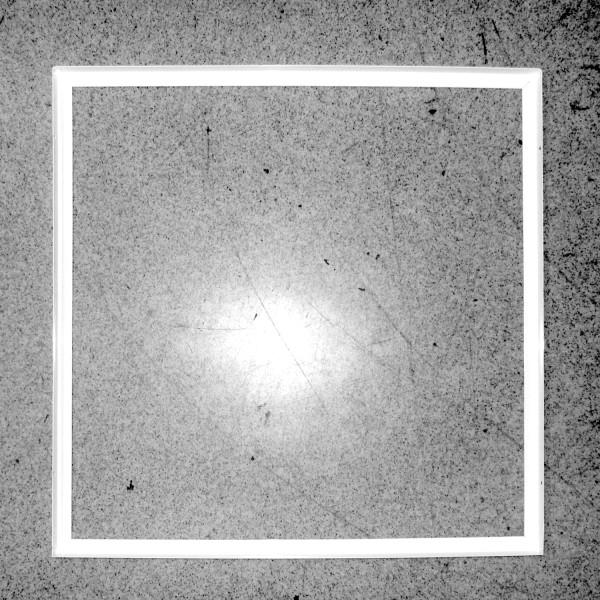 Rastereinbaurahmen 62,5x62,5cm für LED Panel, weiß, 60x60cm