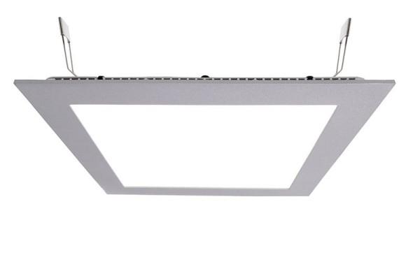 Deko-Light Deckeneinbauleuchte, LED Panel Square 20, Aluminium Druckguss, silberfarben, Neutralweiß