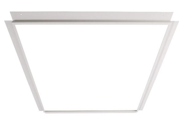 Deko-Light Zubehör, Einlegerahmen für Gips 60x60, Metall, weiß, 674x674mm