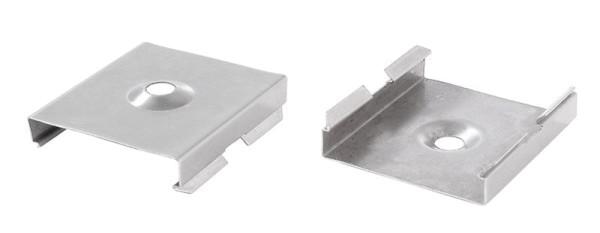 Reprofil Profil Zubehör, Halteklammer - 20 Set 2 Stk, Metall, 30x28mm