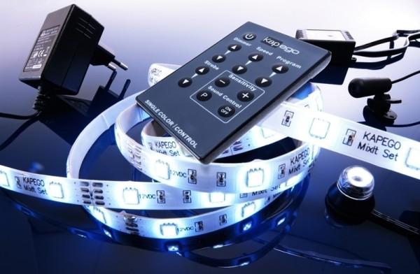 Mixit Set PRO2,5m flexibler LED-Strip kaltweiß