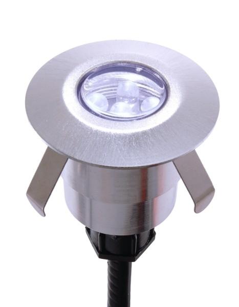 Bodeneinbauleuchte Duro Light, 3er Set, rund