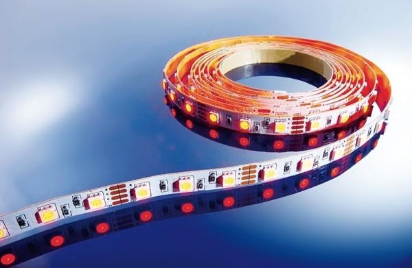 Flexibler LED Stripe IP 20, 12V, 3 m RGB, 60 LED