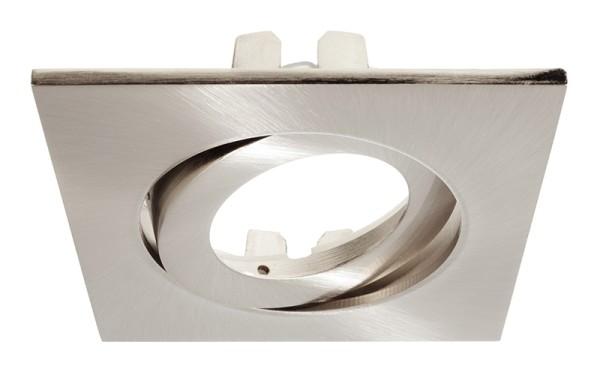 Deko-Light Zubehör, Rahmen für Lesath eckig, brushed, Aluminium Druckguss, 90x90mm