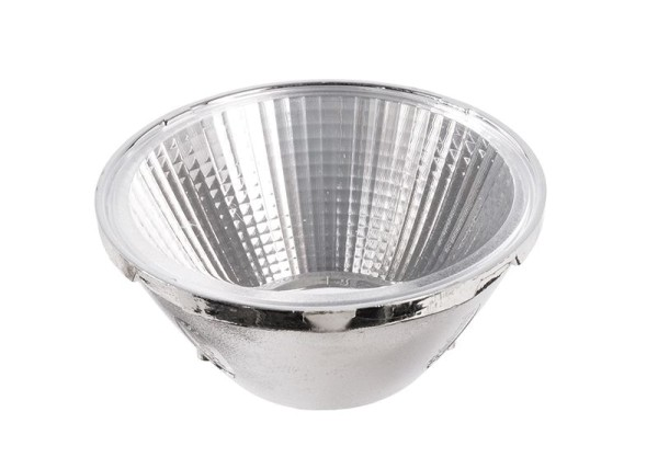 Deko-Light Zubehör, 20° Reflektor Luna 15, Kunststoff, Silber Chrom, 20°