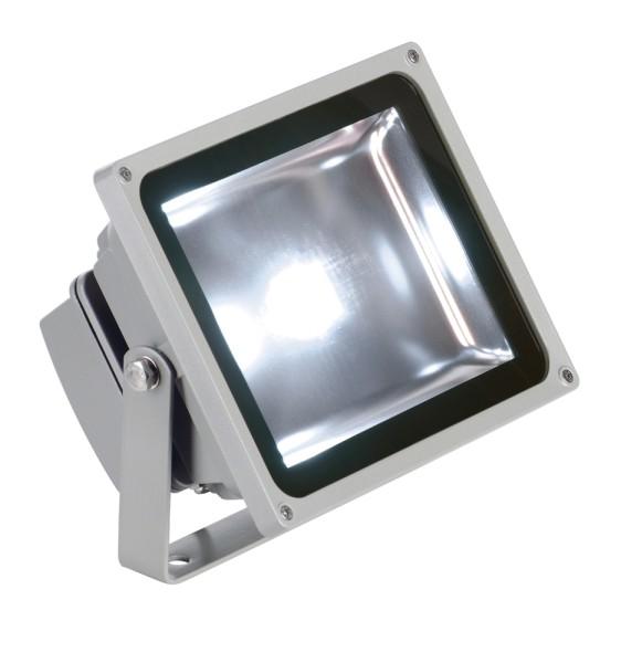 OUTDOOR BEAM, Outdoor Fassadenleuchte, LED, 5700K IP65, silbergrau, 100°, 30W