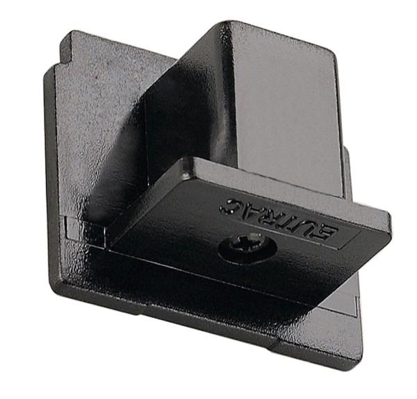 ENDKAPPE, für EUTRAC Hochvolt 3Phasen-Aufbauschiene, schwarz