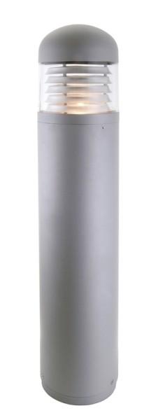 Outdoorstehleuchte Ademe, 100 W, Druckguss silber