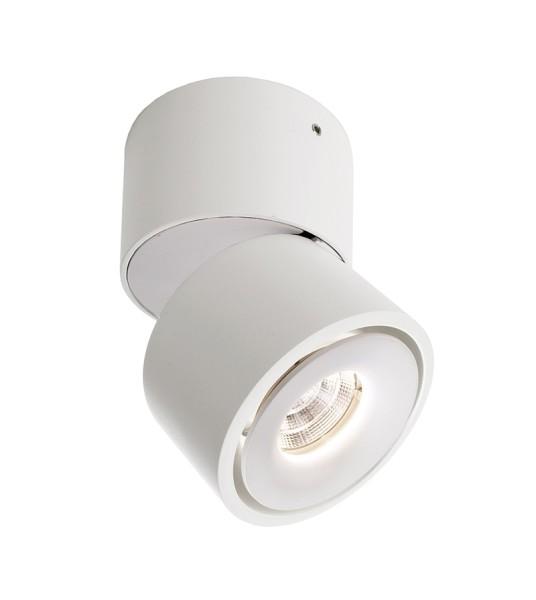 Deko-Light Deckenaufbauleuchte, Uni II Mini, Aluminium Druckguss, weiß, Warmweiß, 33°, 7W, 230V