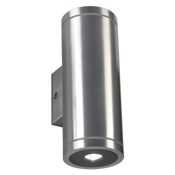 ROX LED UP-DOWN, alu brushed / lackiert, 2x3W weiss, IP44