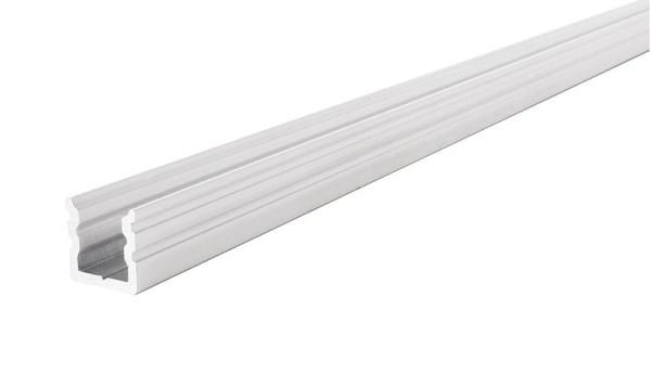 Reprofil Profil, U-Profil hoch AU-02-05, Aluminium, Weiß-matt, 2000mm