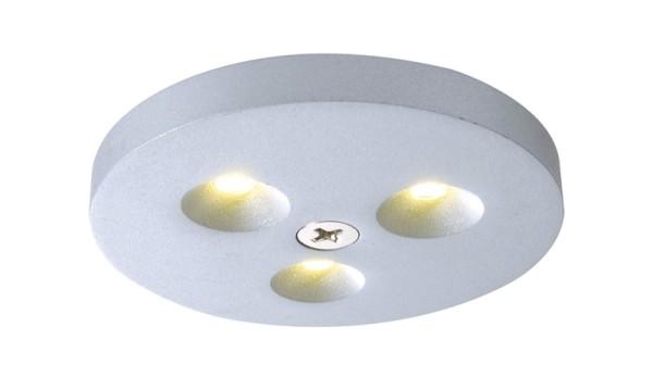 LED Aufbau 3er Set a 3 LEDs, 3 Watt, warmweiß