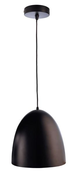 Deko-Light Pendelleuchte, Bell, Metall, schwarz, 40W, 230V, 300mm