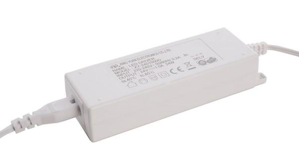 Deko-Light Netzgerät, Netzteil für Mia, Kunststoff, Weiß, 24W, 24V, 1000mA, 145x44mm