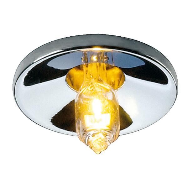 LIGHTPOINT, Einbauleuchte, QT9, rund, chrom, max. 10W