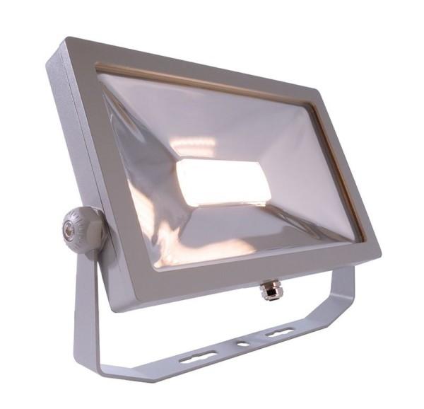 Deko-Light Boden- / Wand- / Deckenleuchte, FLOOD SMD II, Aluminium Druckguss, silberfarben, Warmweiß