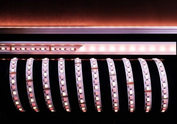 Deko-Light Flexibler LED Stripe, 5050-96-24V-RGB+3000K-5m, Kupfer, Weiß, RGB + Warmweiß, 120°, 65W