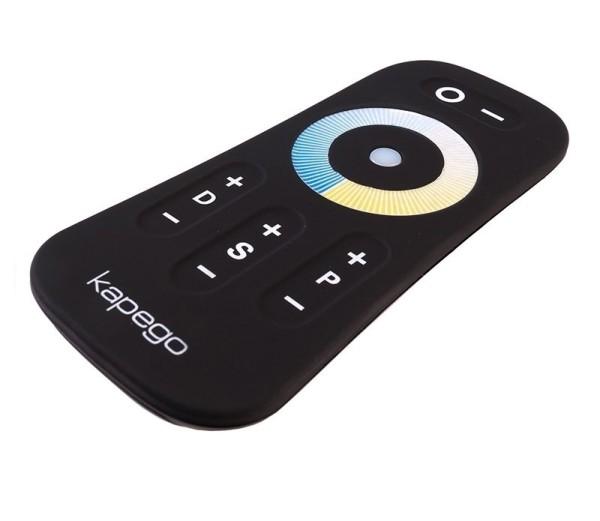 Deko-Light Controller, Touch Fernbedienung RF White, Kunststoff, Schwarz, 110x52mm