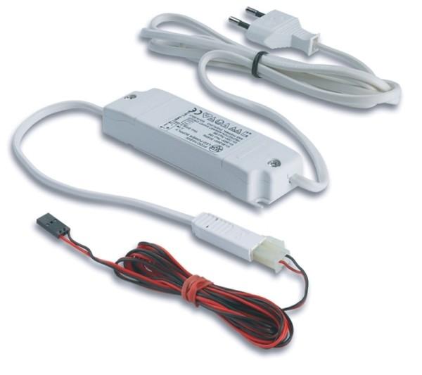 LED Floor Trafo 24V15W mit Verbindungsleitung