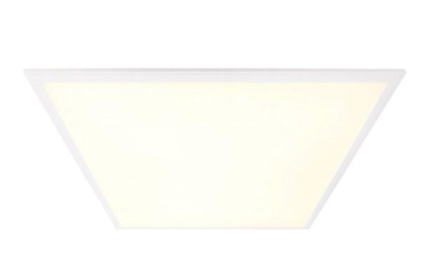 Deko-Light Einlegerasterleuchte, Eco Line II, Aluminium, Weiß, Warmweiß, 120°, 40W, 19-38V