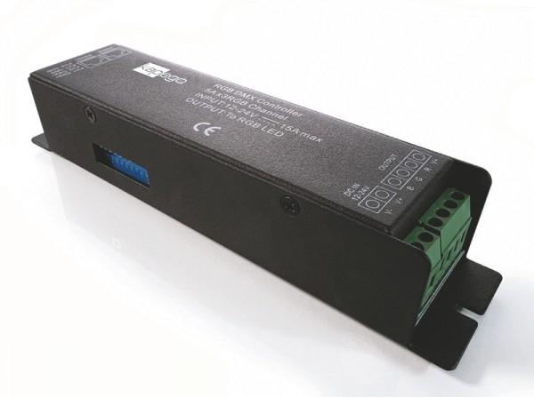 KapegoLED Controller, DMX 512 Driver, spannungskonstant, dimmbar: DMX512, 12-24V DC, 360,00 W