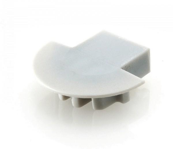 Endkappe Micro-K, Grau