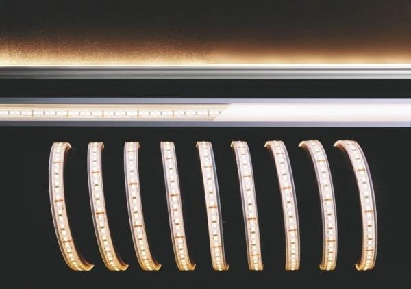 Deko-Light Flexibler LED Stripe, 3528-180-24V-3000K-5m-Silikon, Kupfer, Weiß, Warmweiß, 120°, 55W