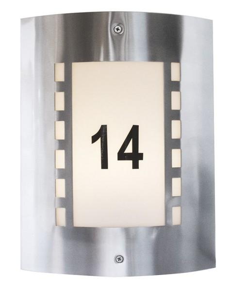 Deko-Light Zubehör, Nummern-Set für Wall I, Kunststoff