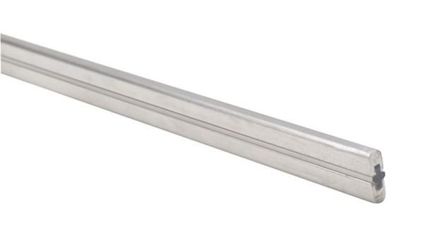 Deko-Light Schienensystem One 12V, Stromschiene, Silber-matt, 12V AC/DC, Länge: 1000 mm, max. 25A