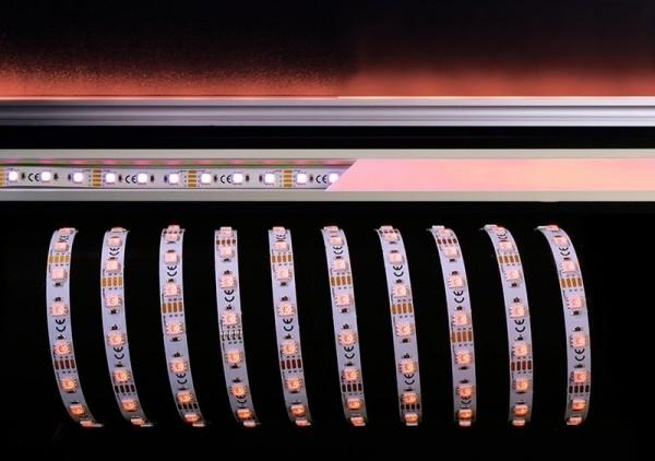 Deko-Light Flexibler LED Stripe, 5050-60-12V-RGB-5m-Nano, Kupfer, Weiß, RGB, 120°, 40W, 12V, 5000mm