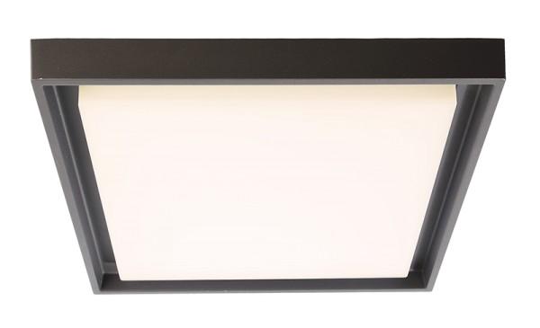 Deko-Light Deckenaufbauleuchte, Arneb, Aluminium Druckguss, dunkelgrau, Neutralweiß, 113°, 27W, 230V